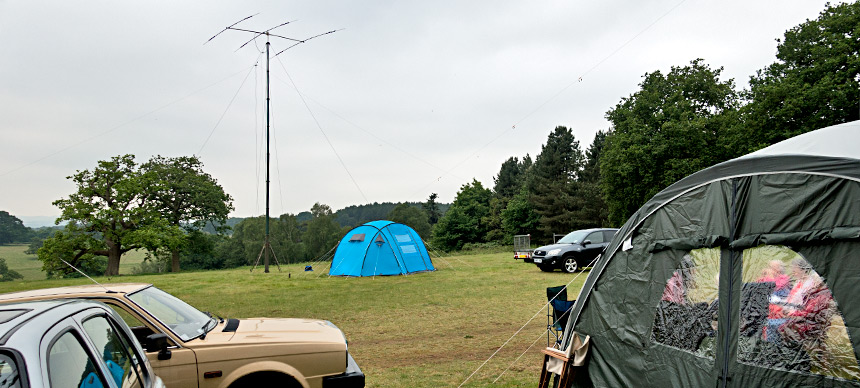 Farnborough and District Radio Society contesting site